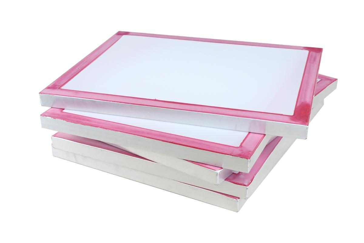 Siebdruckrahmen 72T in 73x53cm Drucksieb A3 Siebdruck Textildruck Sieb Screen